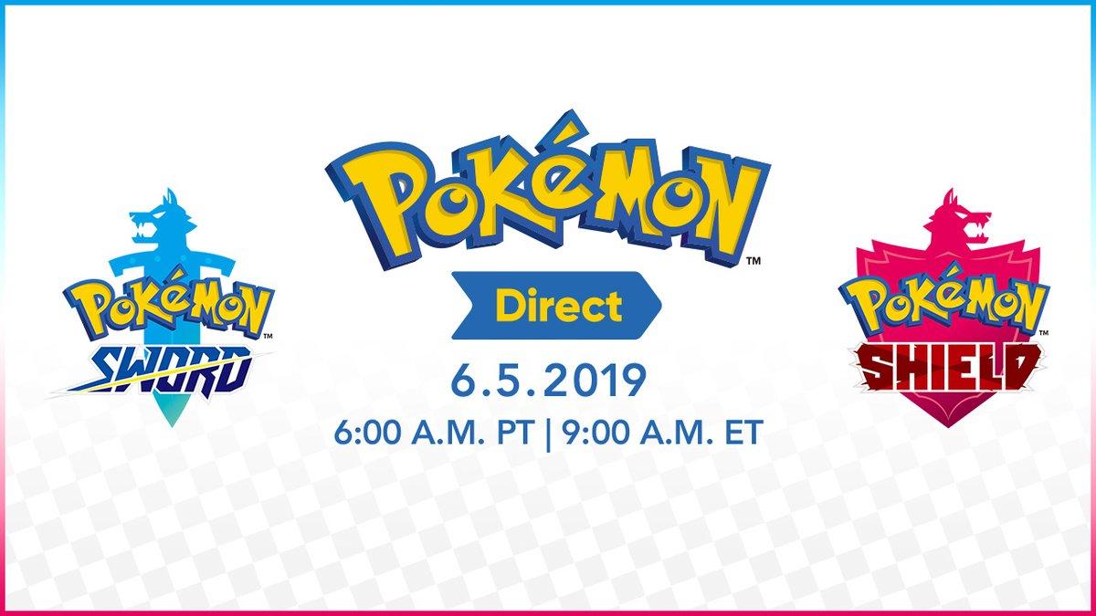Pokemon Direct - June 5, 2019 - live stream, live blog