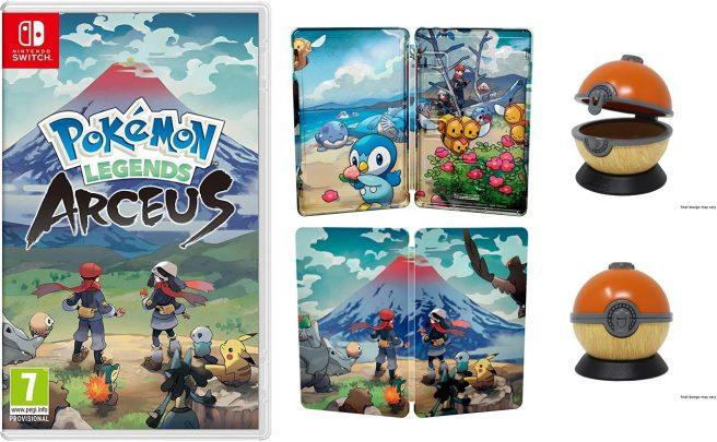pokemon legends arceus pre order bonus amazon