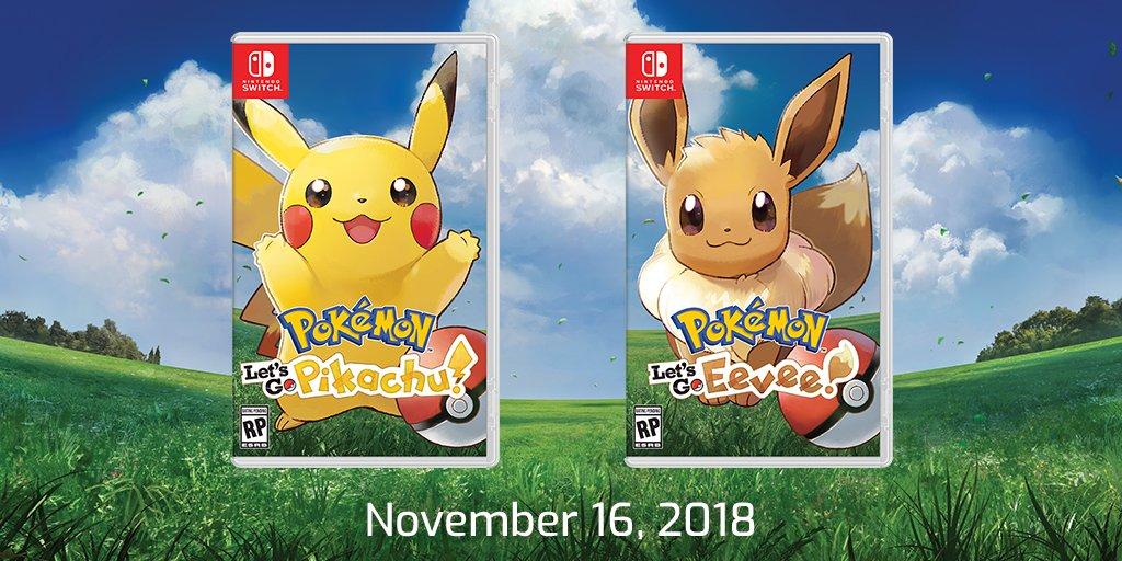 Pokemon: Let's Go, Pikachu / Eevee final file size - Nintendo Everything