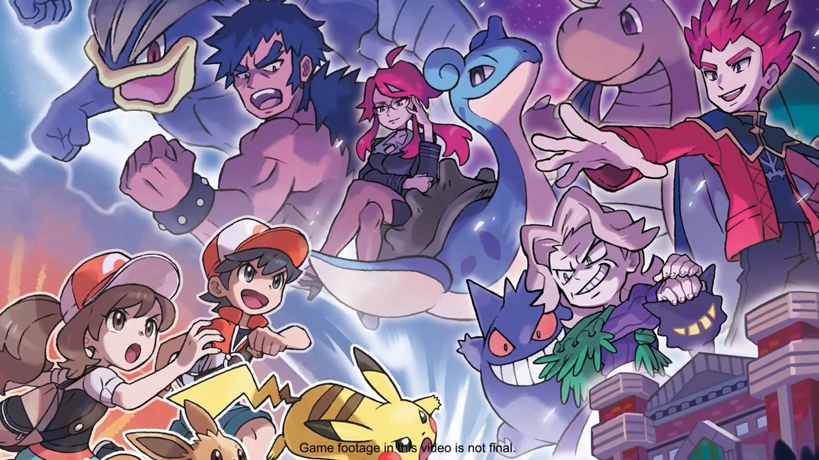 New Pokemon: Let's Go, Pikachu / Eevee trailers - Nintendo