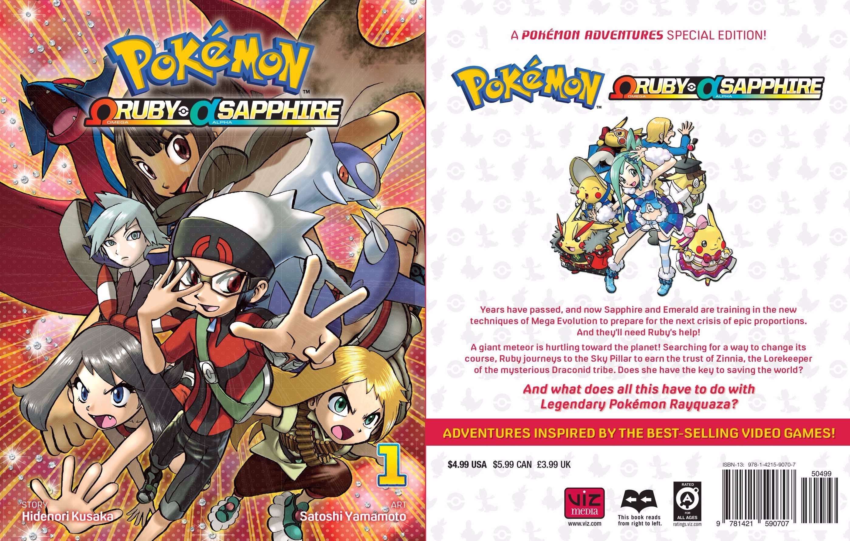 Pokemon Omega Ruby Alpha Sapphire Manga Out In English