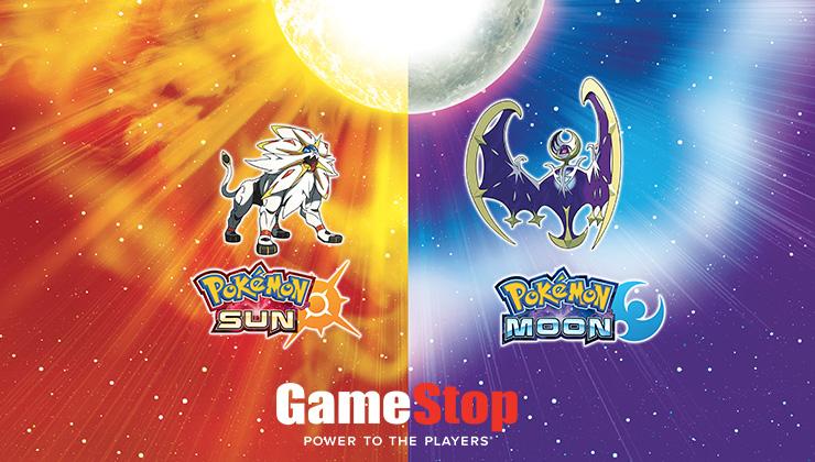 Pokemon Sun and Pokemon Moon are GameStop's best-performing