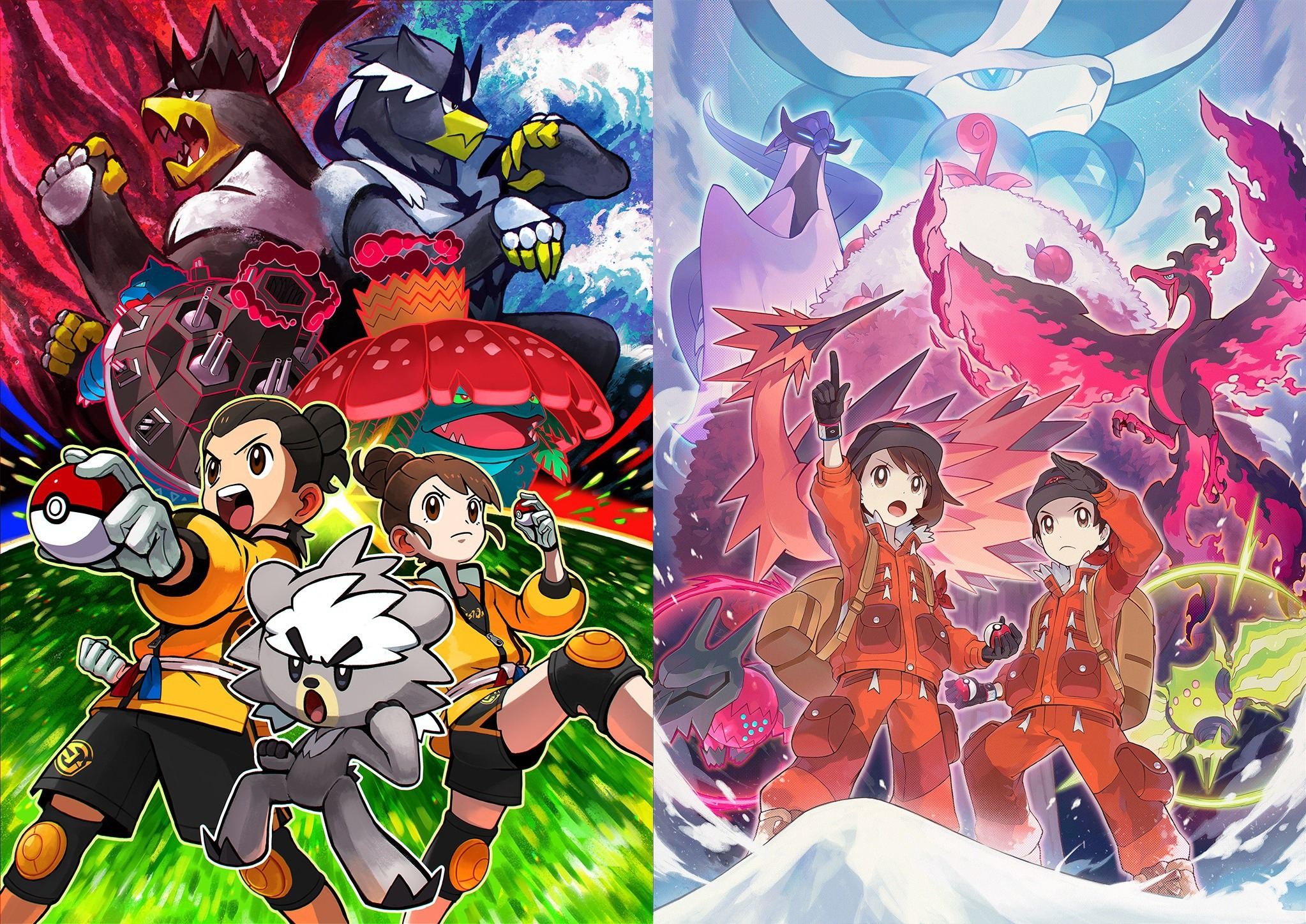 Pokemon Sword/Shield - tons of screenshots and art for The Isle of Armor and The Crown Tundra - Nintendo Everything