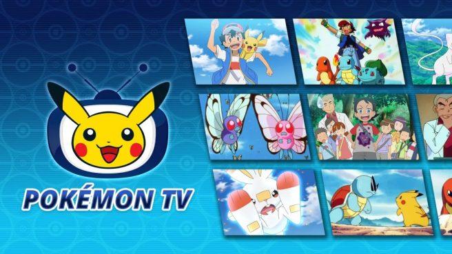 Pokemon TV app Switch