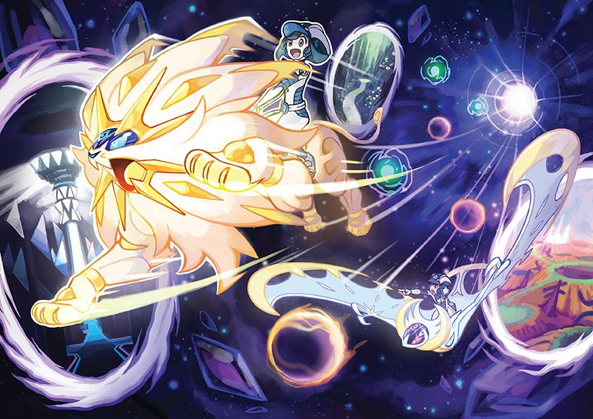 Pokemon Ultra Sun Ultra Moon Details Screenshots Art Ultra