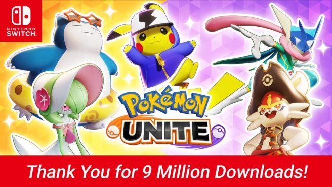 pokemon unite downloads