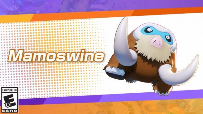 Pokemon Unite Mamoswine
