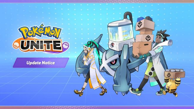Pokemon Unite update