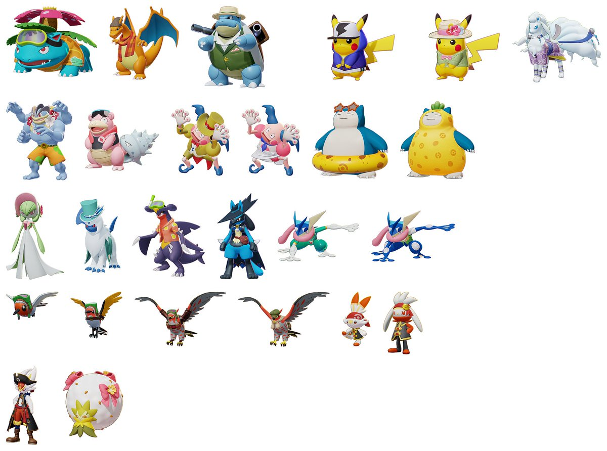 List Of All Pokemon Included In Pokemon Unite At Launch Nintendo Everything