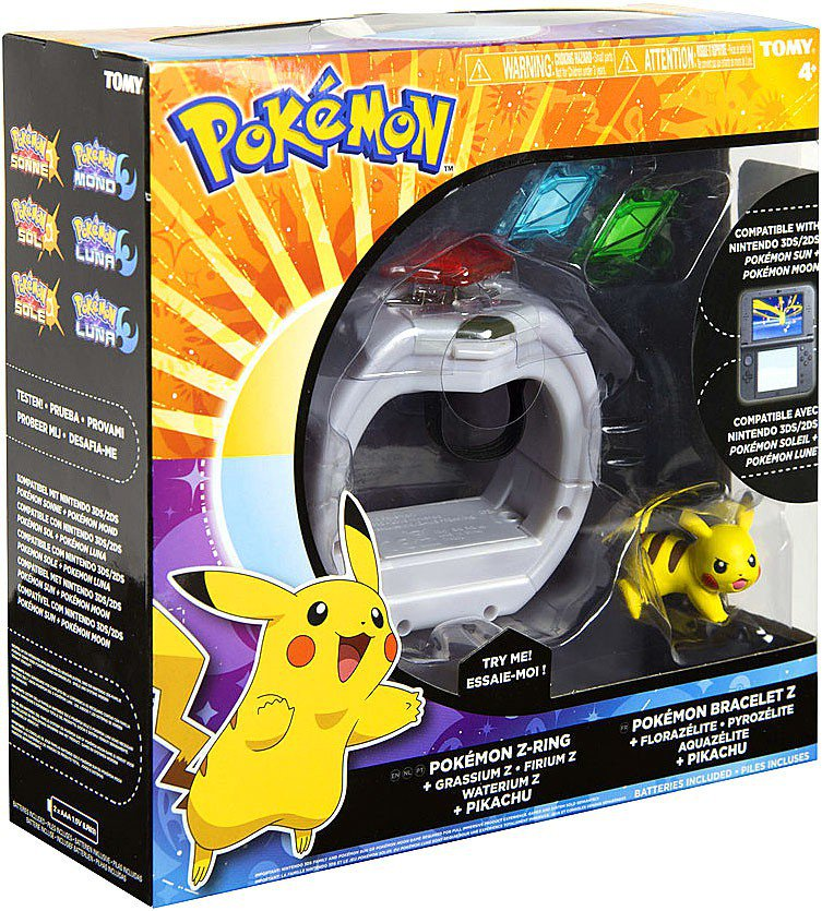 Additional Tomy Z Ring Crystals