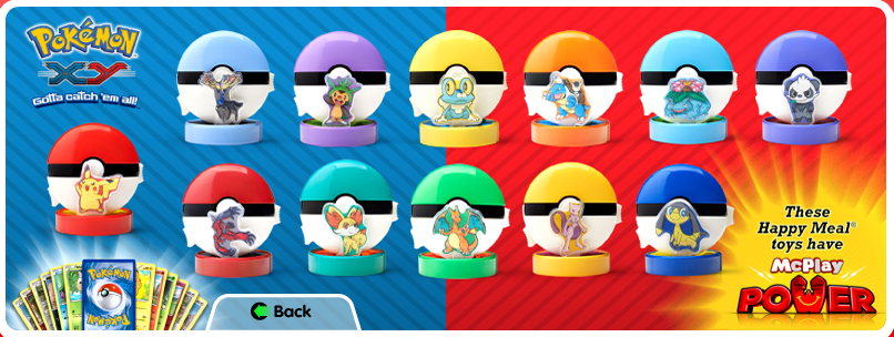 McDonald's Happy Meals to offer Pokemon X/Y toys