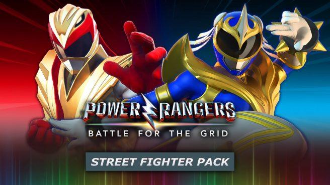 Power Rangers: Battle for the Grid - Street Fighter