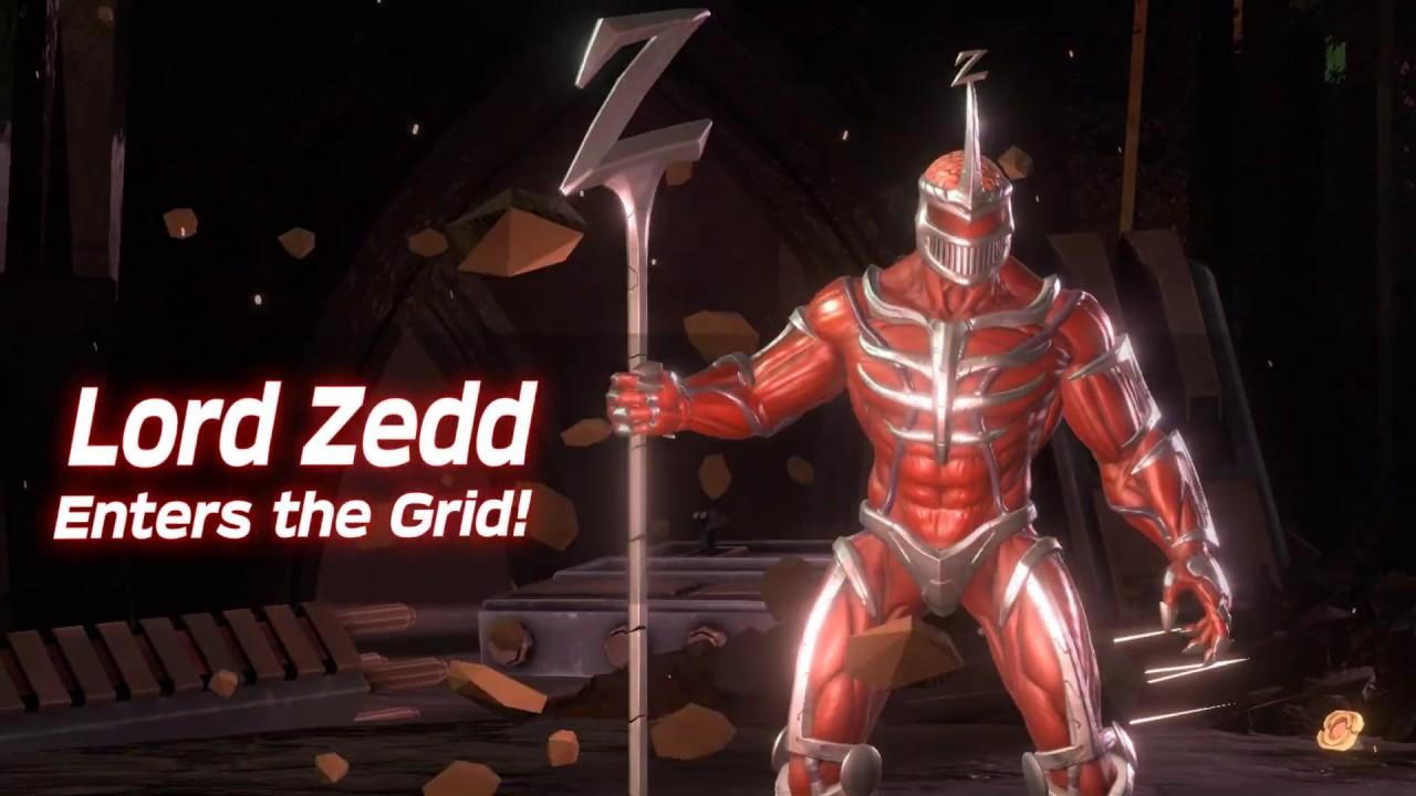 Lots of Power Rangers: Battle for the Grid Lord Zedd footage
