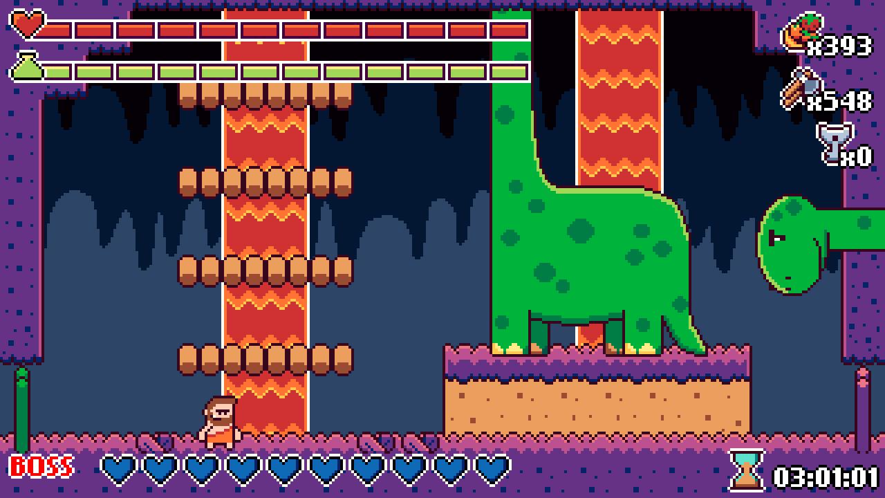 Metroidvania game Prehistoric Dude reaching Switch next week - Nintendo Everything