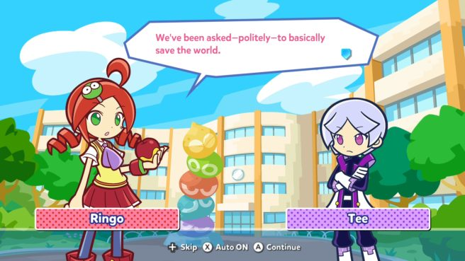 Puyo Puyo Tetris 2 - Adventure Mode