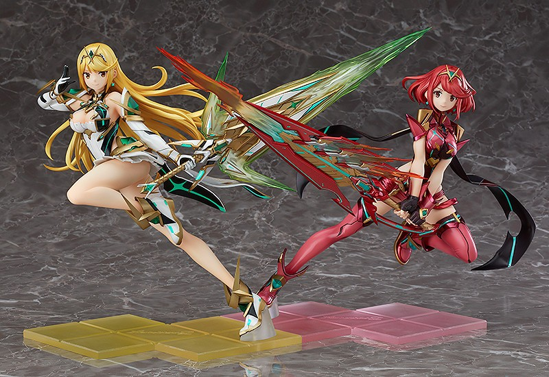 Xenoblade Chronicles 2 - Pyra and Mytha figures getting a restock, pre-orders open - Nintendo Everything