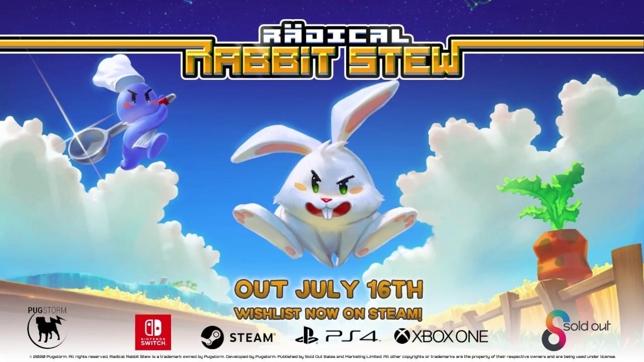 Radical Rabbit Stew launches July 16 - Nintendo Everything
