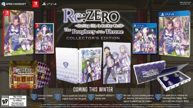 Re:Zero - Starting Life in Another World The Prophecy of the Throne