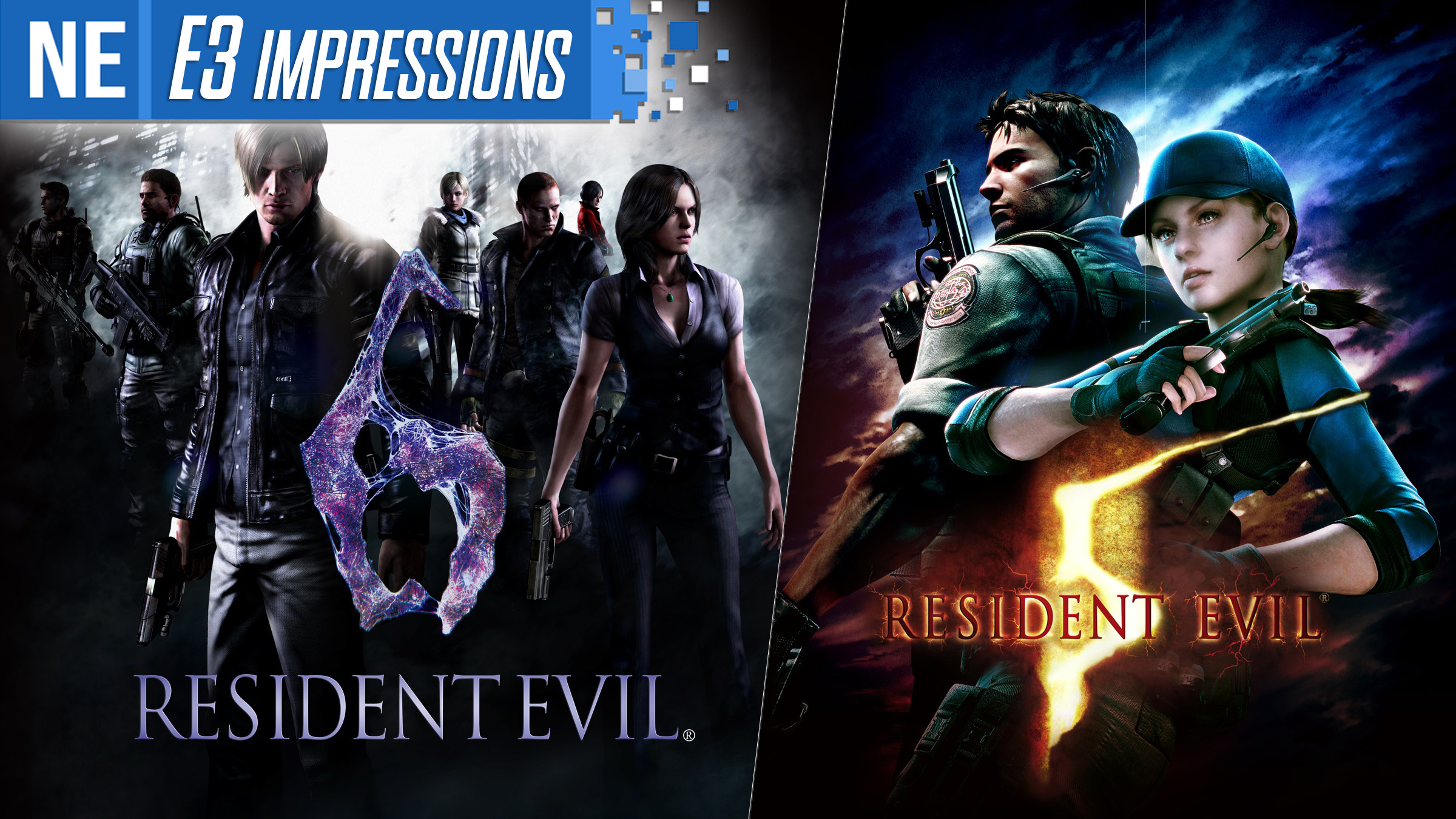 E3 2019 Impressions Resident Evil 5 And Resident Evil 6 On Switch Nintendo Everything