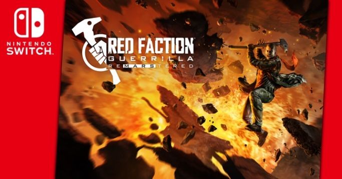 Red Faction Guerrilla Re-Mars-tered Switch tech analysis