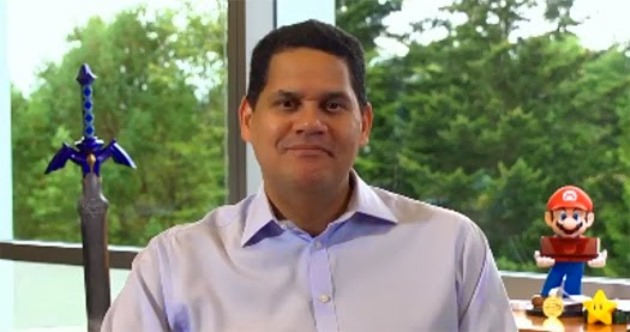 Reggie says he had a PS2 and an Xbox when he interviewed with Nintendo, but not a GameCube - Nintendo Everything