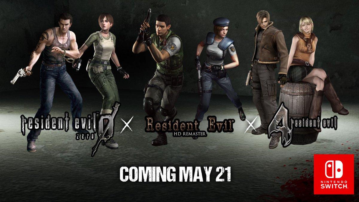 Switch file sizes - Resident Evil, Resident Evil 0, Resident