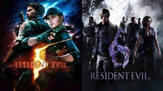 Capcom releases Resident Evil 5 and Resident Evil 6 demos on Switch, eShop discount offer, file sizes