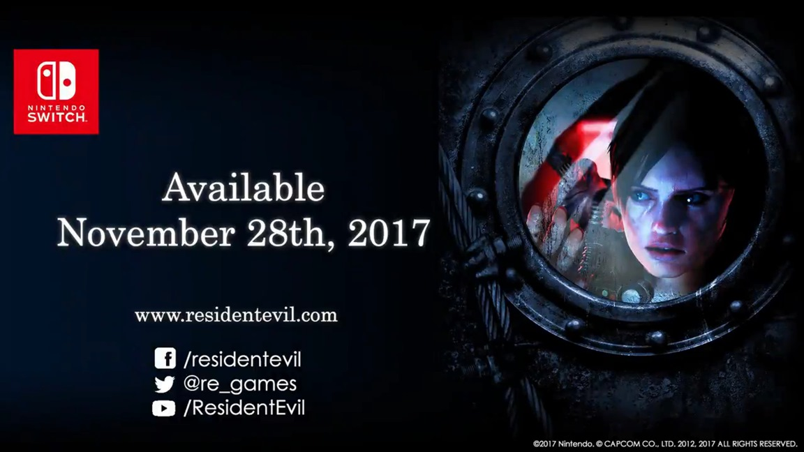 Resident Evil Revelations 1 and 2 for Switch details - frame