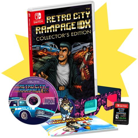 Retro City Rampage DX: Collector's Edition delayed, now