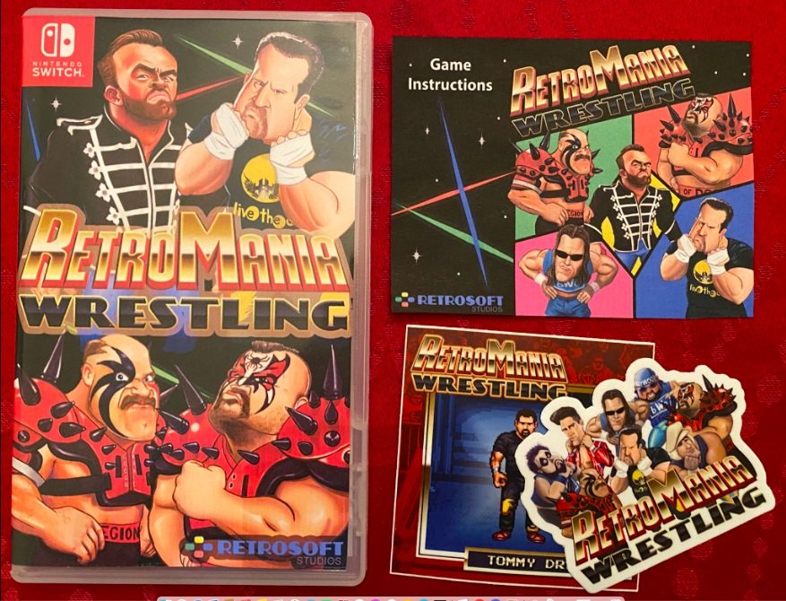"""RetroMania Wrestling planned for July launch, """"Digital Plus"""" version revealed - Nintendo Everything"""