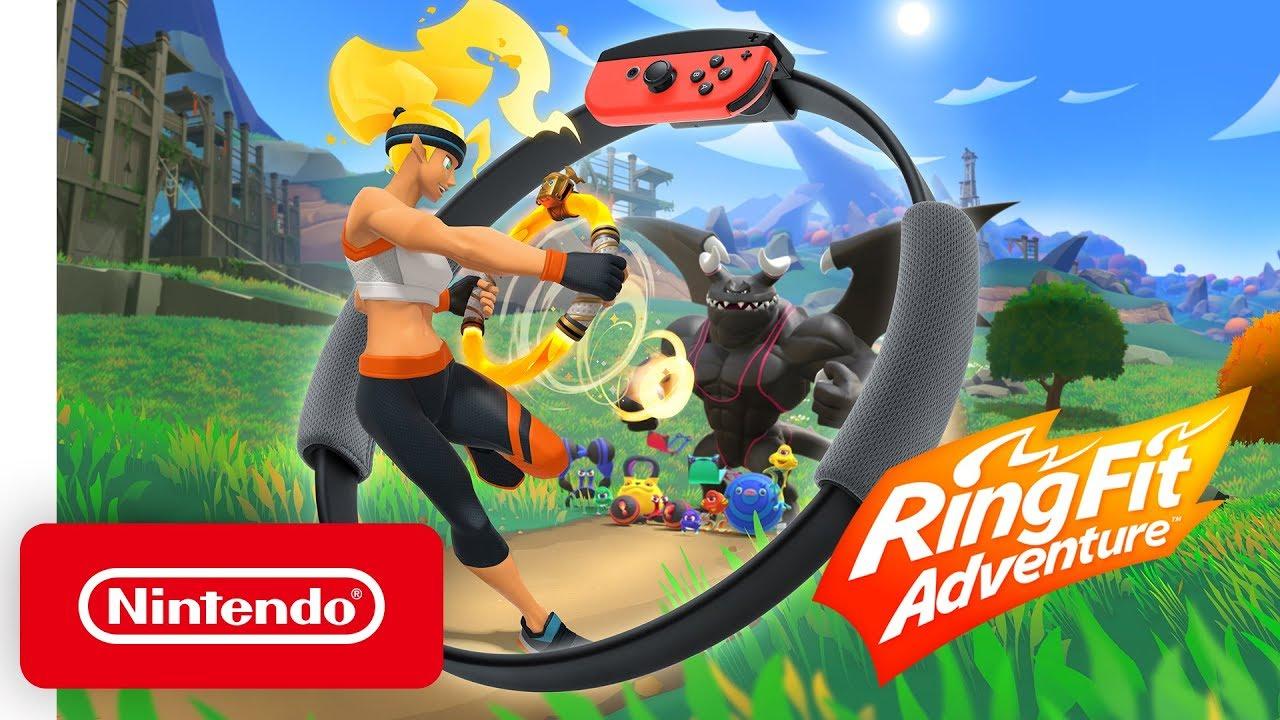 """Ring Fit Adventure – """"Adventure"""" trailer"""