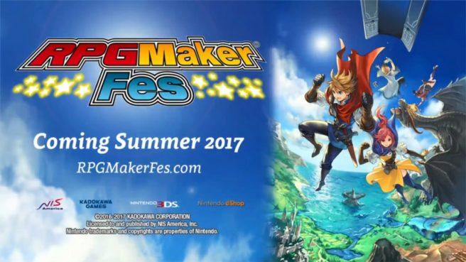 RPG Maker Fes screenshots and system details - Nintendo Everything