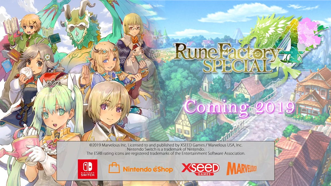 Rune Factory 4 Special's next live stream taking place this week