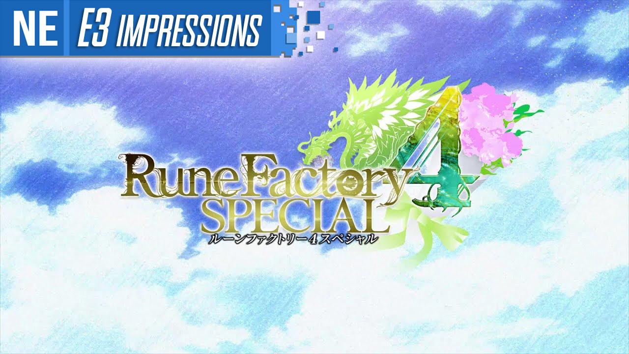 [E3 2019 Impressions] Rune Factory 4 Special