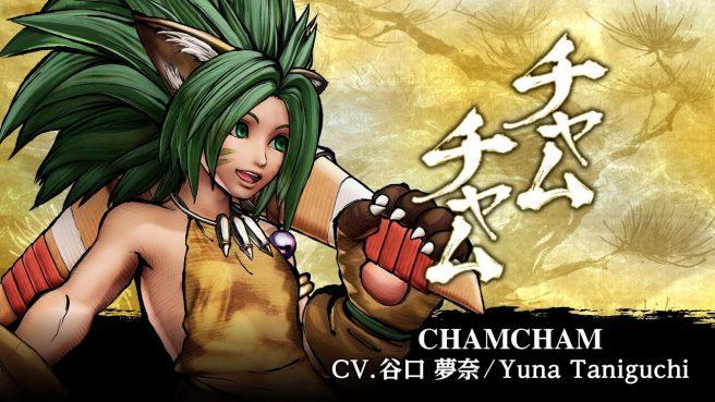 Samurai Shodown - Cham Cham