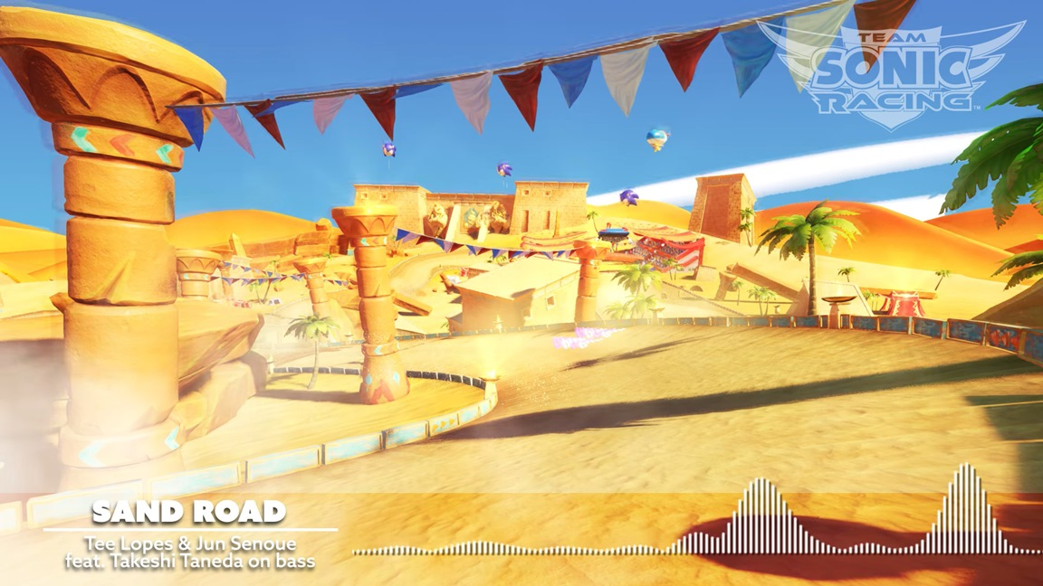 Sega Shares New Sand Road Music From Team Sonic Racing Nintendo Everything