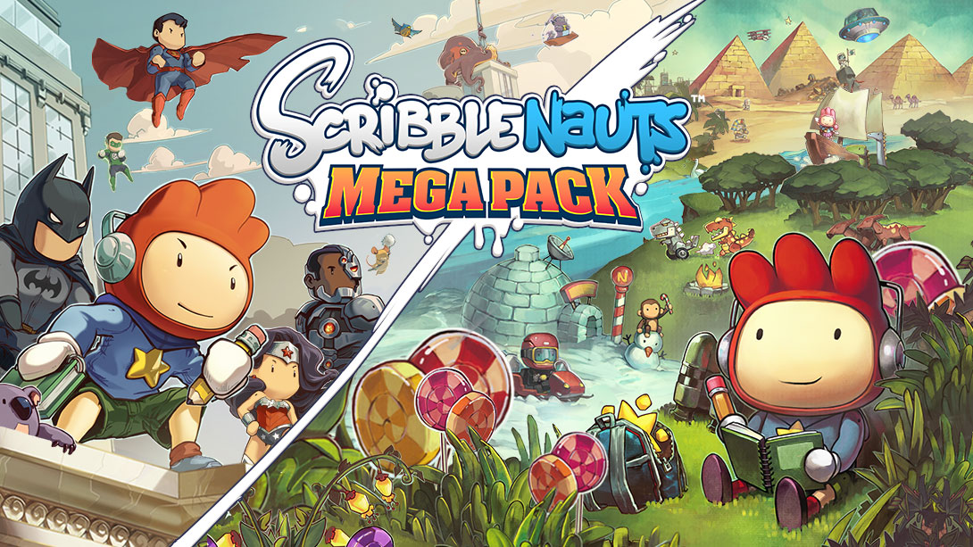 Scribblenauts Mega Pack announced for Switch - Scribblenauts