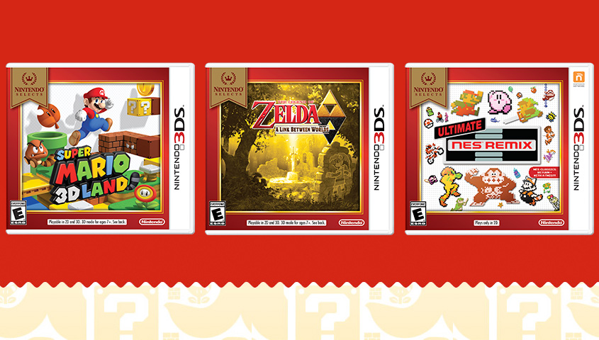 Promo for the new 3DS Nintendo Selects - Nintendo Everything