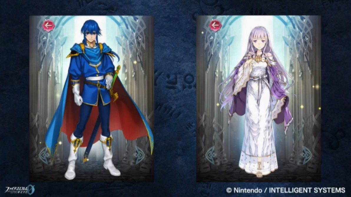 Fire Emblem Heroes Adding Seliph And Julia From Genealogy