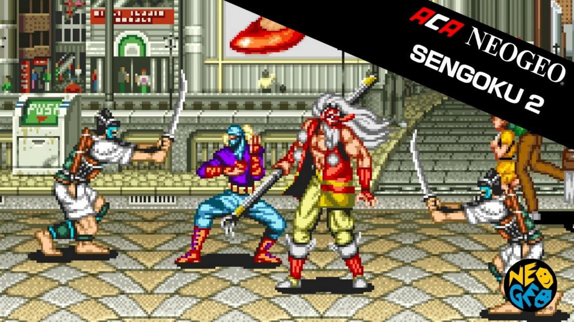 Sengoku 2 is next week's NeoGeo game on Switch - Nintendo Everything