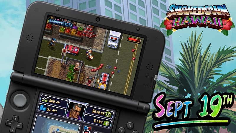 Shakedown: Hawaii out for 3DS on September 19, Switch physical version on the way