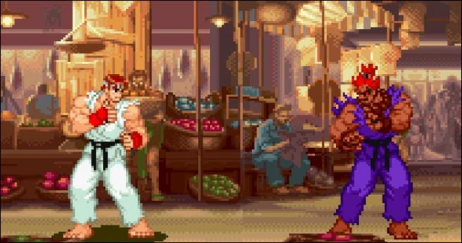 Street Fighter Alpha 2 - Shin Akuma
