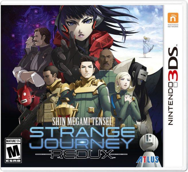 Shin Megami Tensei: Strange Journey Redux boxart