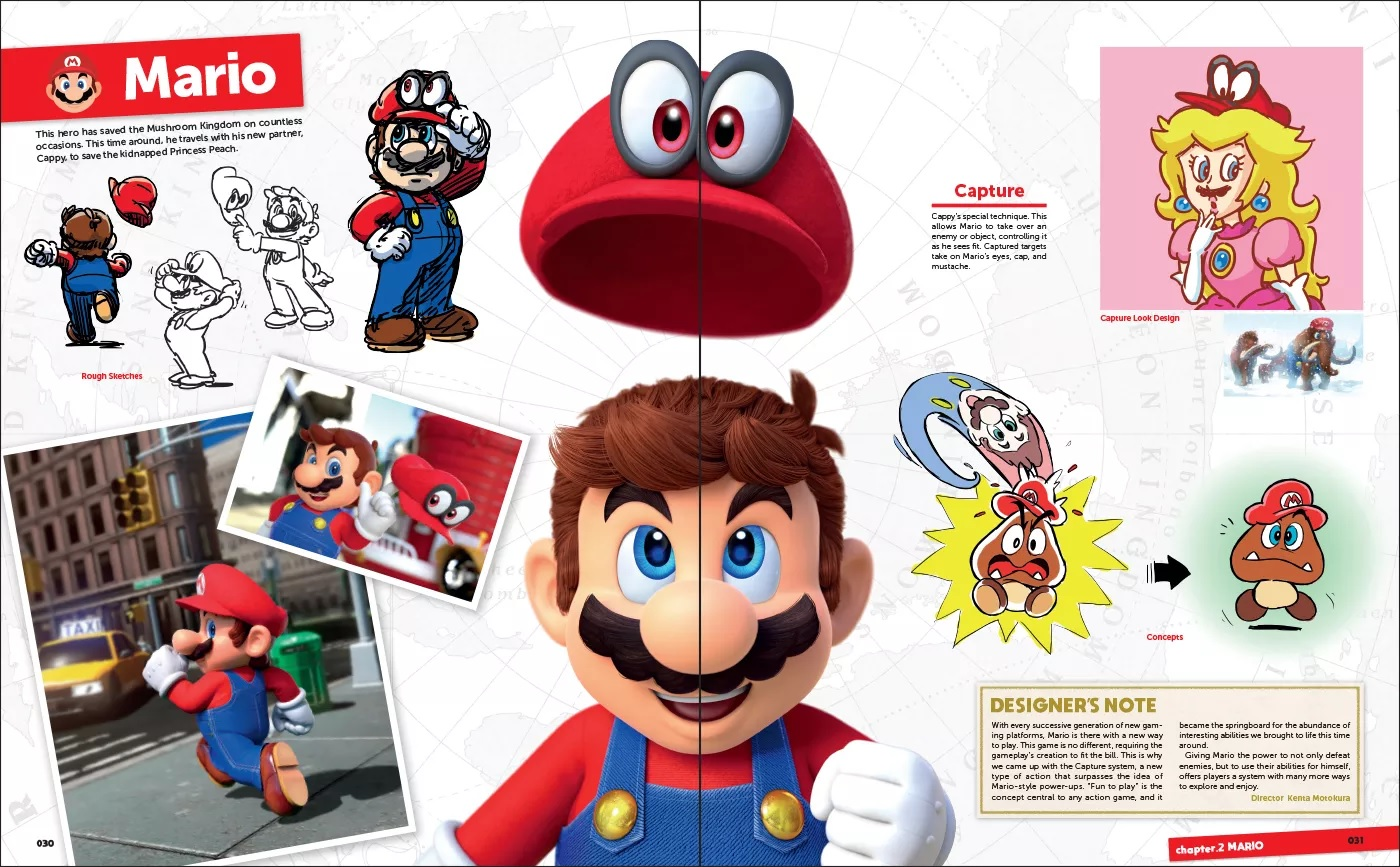 A Look Inside The Upcoming English Version Of The Art Of Super Mario Odyssey Nintendo Everything
