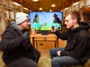 In this photo provided by Nintendo of America, gamers from Nintendo go head to head against real dairy farmers to see whose cow-milking skills reign victorious in Milk, one of 28 fun games in the ¬1-2-Switch game for the Nintendo Switch system. Players enjoyed several friendly matches in various locations throughout Billings Farm & Museum in Woodstock, Vermont, on March 29. 1-2-Switch and the Nintendo Switch system are now available worldwide.