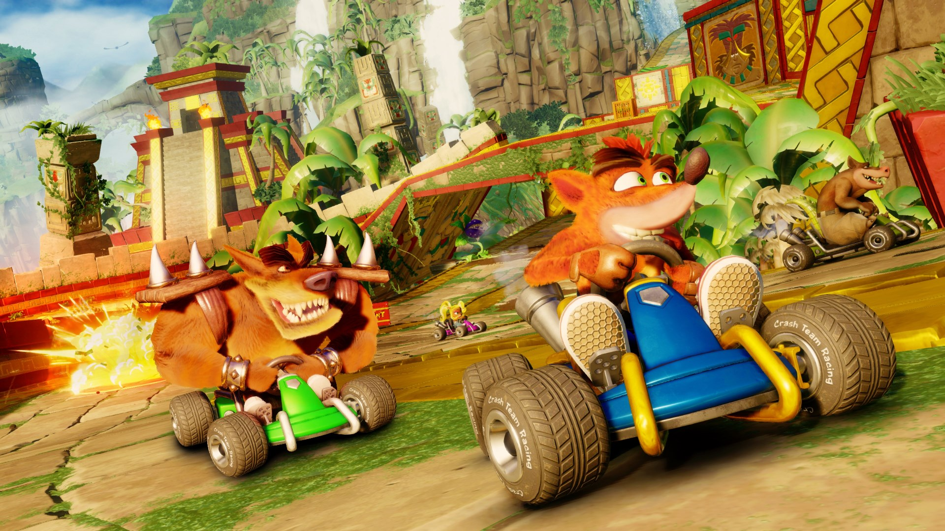 New Crash Team Racing Nitro Fueled Screenshots Including Latest