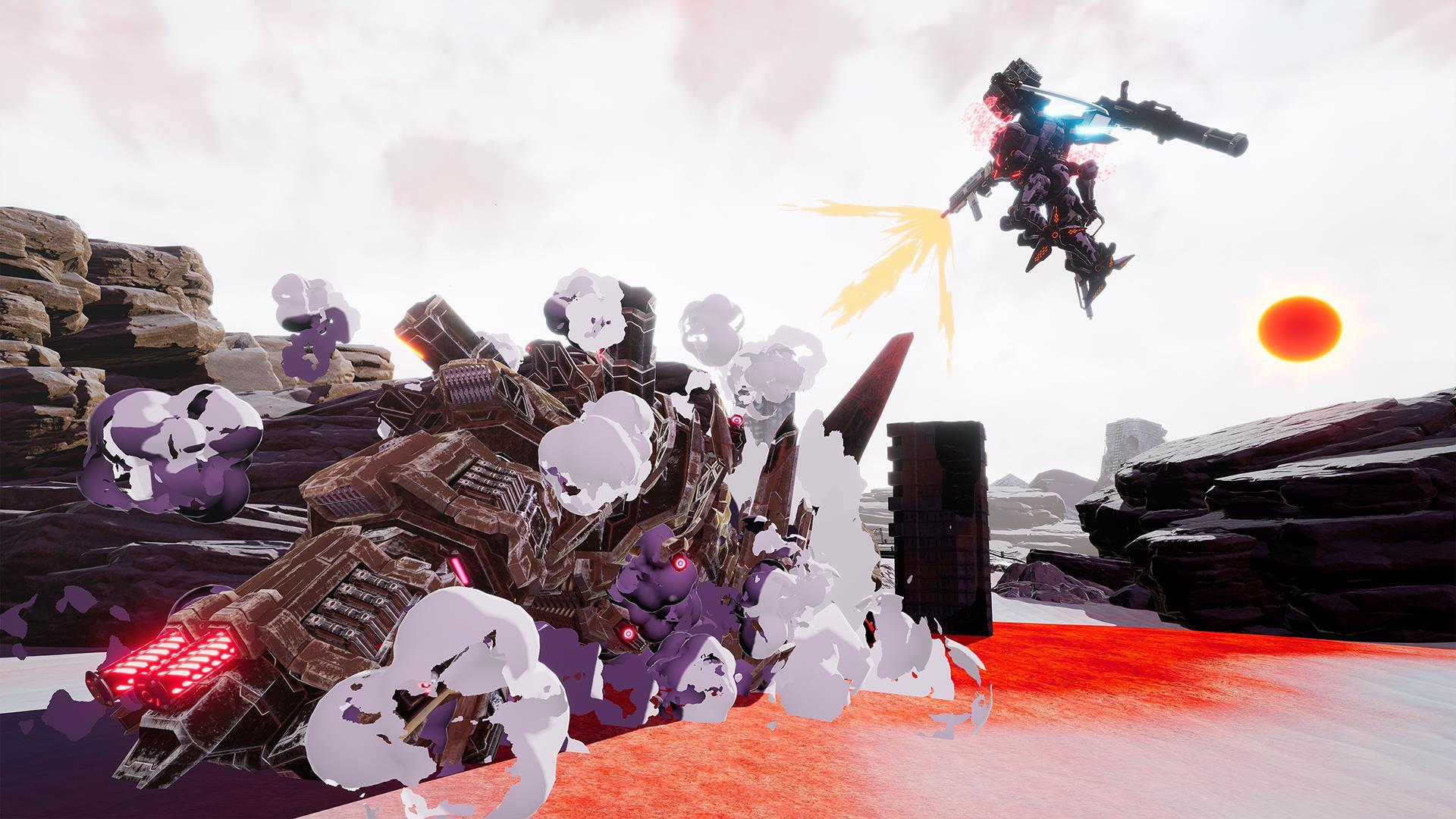 Daemon X Machina screenshots, fact sheet - Nintendo Everything