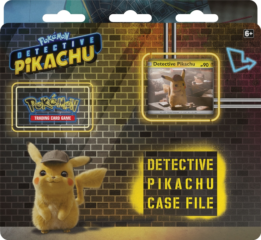 The Pokemon Company Unveils Pokemon Detective Pikachu