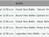 Fire Emblem Heroes Limited Hero Schedule