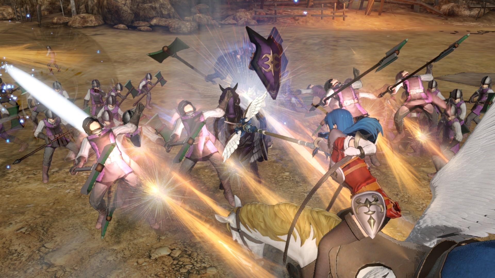 A Few More Screenshots From Fire Emblem Warriors Shadow Dragon